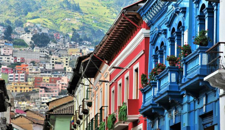 balcons de Quito