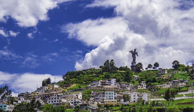 Virgen Panecillo Quito