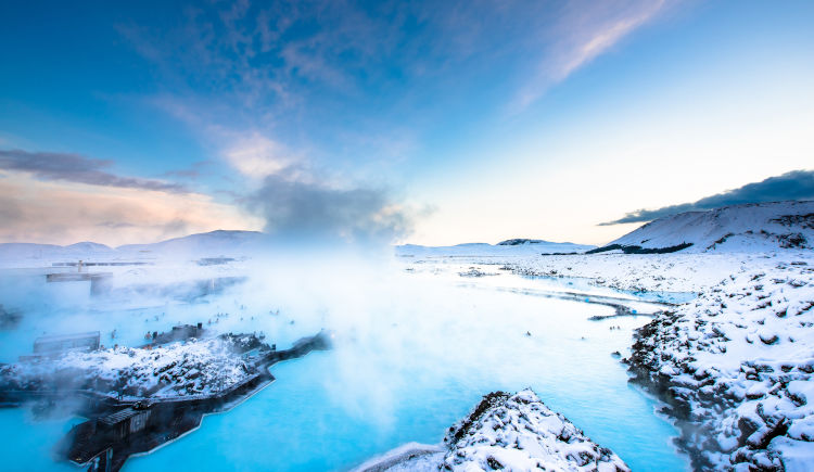 Lagoon blue Reykjavik