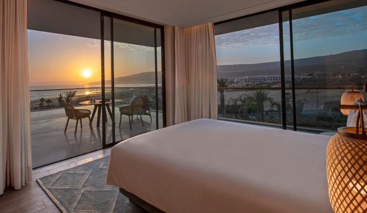 Executive terrace suite bedroom