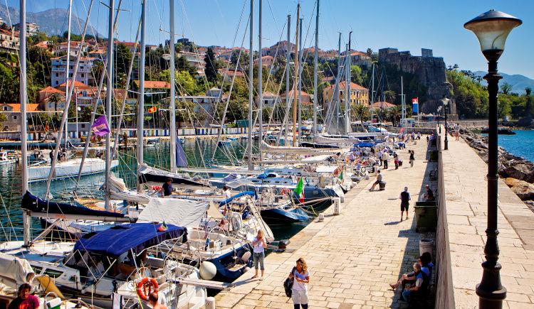 Herceg Novi port
