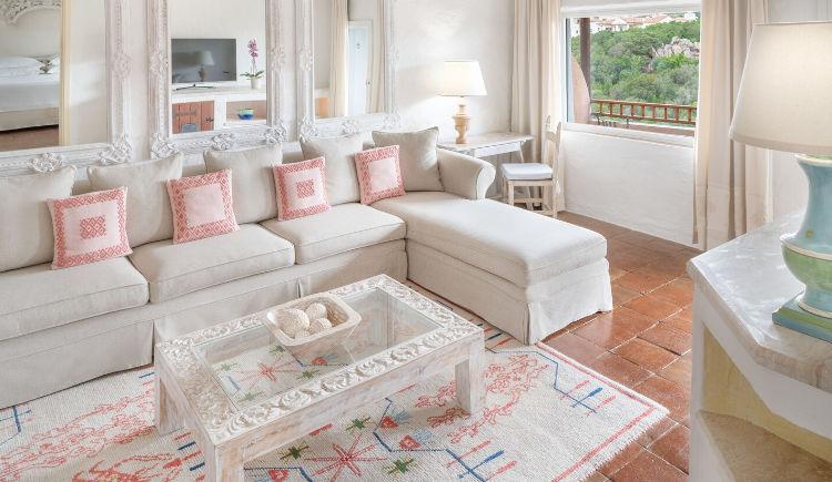 premium suite livingroom