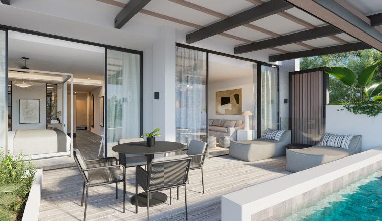 Residence terrace